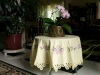 Tablecloth with Orchids